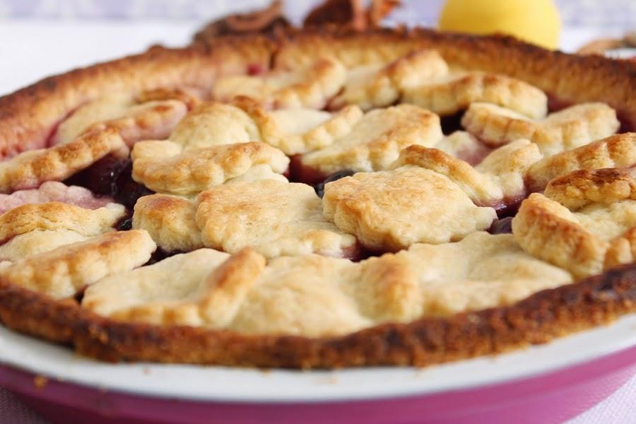 Receta Cherry pie o pie de cerezas