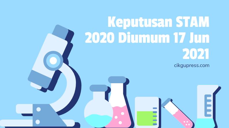 keputusan stam 2020