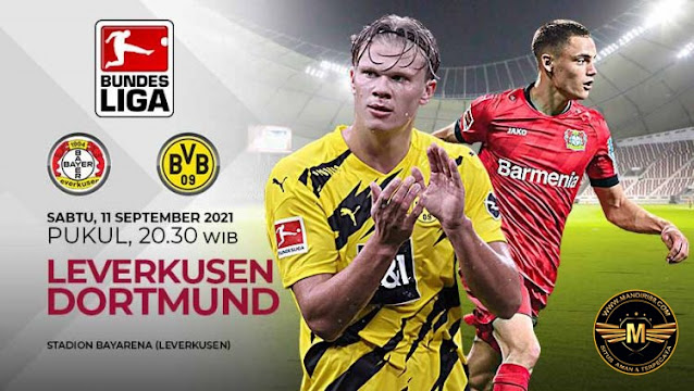 Prediksi Bayern Leverkusen Vs Borussia Dortmund