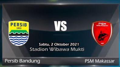 Link Live Streaming PERSIB Bandung vs PSM Makassar Hari Ini di Indosiar Vidio Liga 1 BRI dan Cara Nonton Tayang TV Online