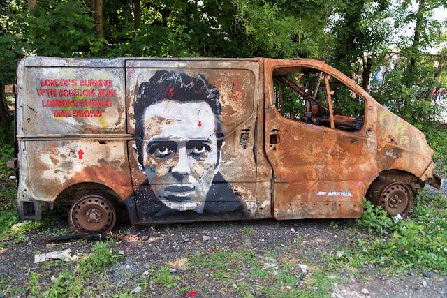 London's Burning by Jef Aerosol, In Situ Art Festival