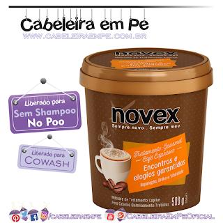 Máscara De Hidratação Café Expresso Tratamento Gourmet - Novex (No Poo)