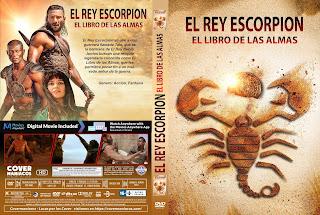 CARATULA The Scorpion King Book of Souls - El Rey Escorpión 5 [ COVER DVD ]