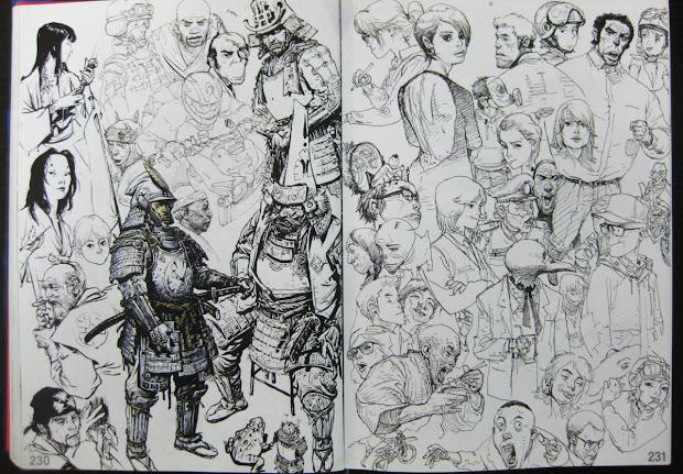 Felix Ip Awesome Sketches Kim Jung Gi