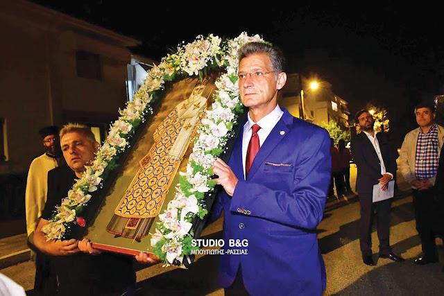 Τον Άγιο Νεκτάριο τίμησαν ο Θράκες της Αργολίδας