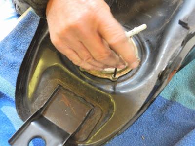 Yamaha YBR 125 fuel injection pump