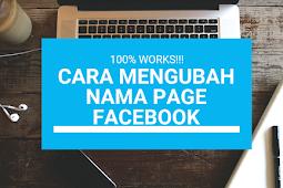 Cara Mengubah Nama Page/ Halaman Facebook, Dijamin Berhasil!