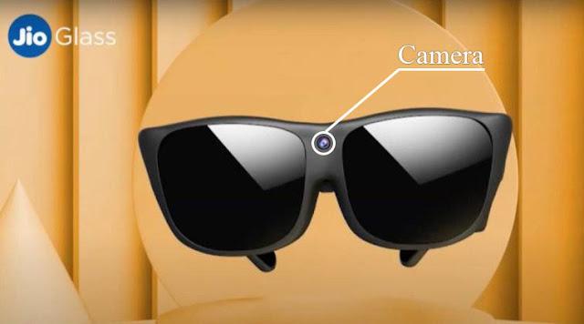 जियो ग्लास में कैमरा (Camera in jio Glass)