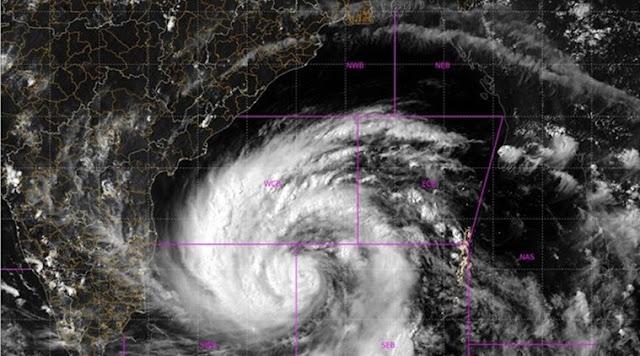 Real time updatye of the Typhoon Amphan