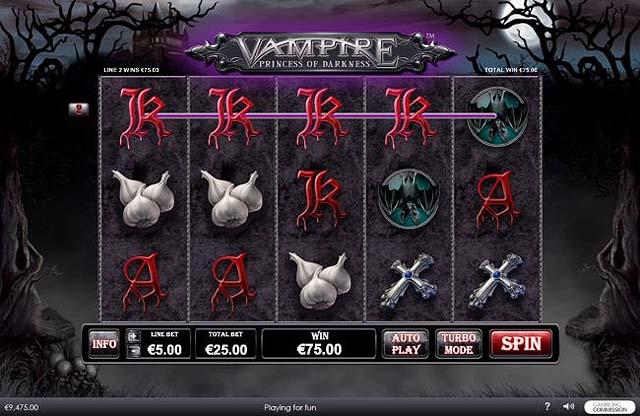 Ulasan Slot Playtech Indonesia - Vampire Princess of Darkness Slot Online