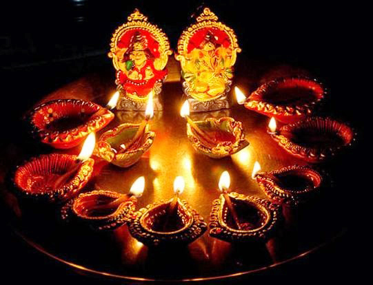 Traditional way of Diwali celebration
