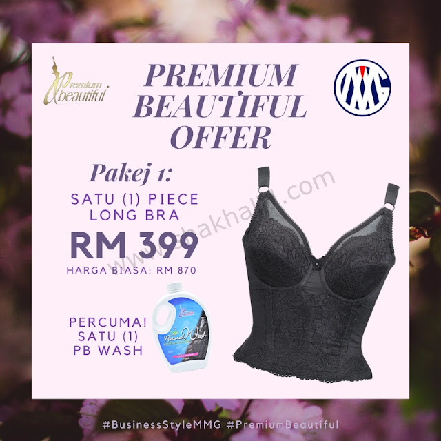 premium beautiful offer pakej 1