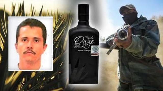 """Así es el Onze Black, el tequila de la hija de """"El Mencho"""" líder del CJNG"""