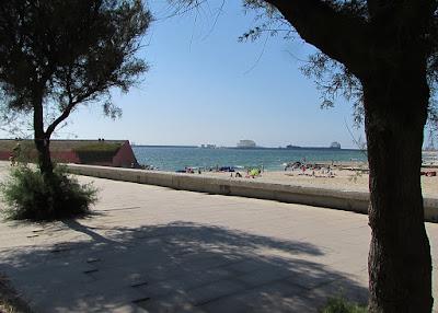 junção do Parque da Cidade com a praia do Porto