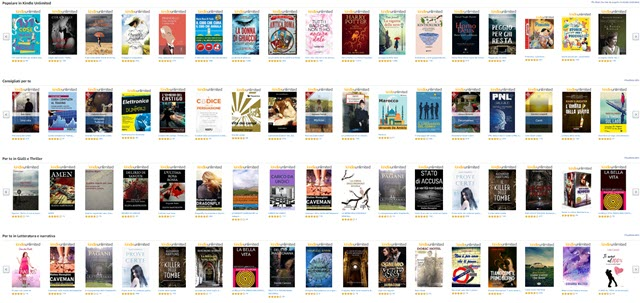 catalogo kindle unlimited