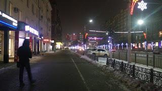 Тула, улицы Тулы, новогодняя тула, украшения улиц, новый год, улицы города