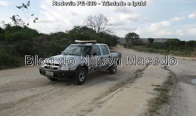 Casal tem veículo tomado assalto de zona rural de Ipubi - PE