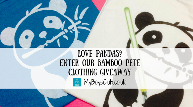 Win Bamboo Pete Clothing is free to enter giveaway competition with My Boys Club