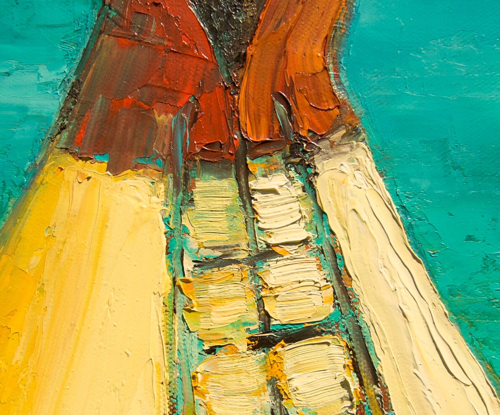 Colorful Southwestern Art: Colorful Southwestern Tipi Art by Theresa ...