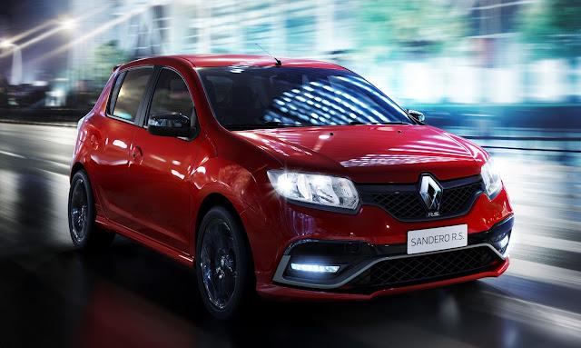 Novo Renault Sandero R.S 2.0: elevação de preço