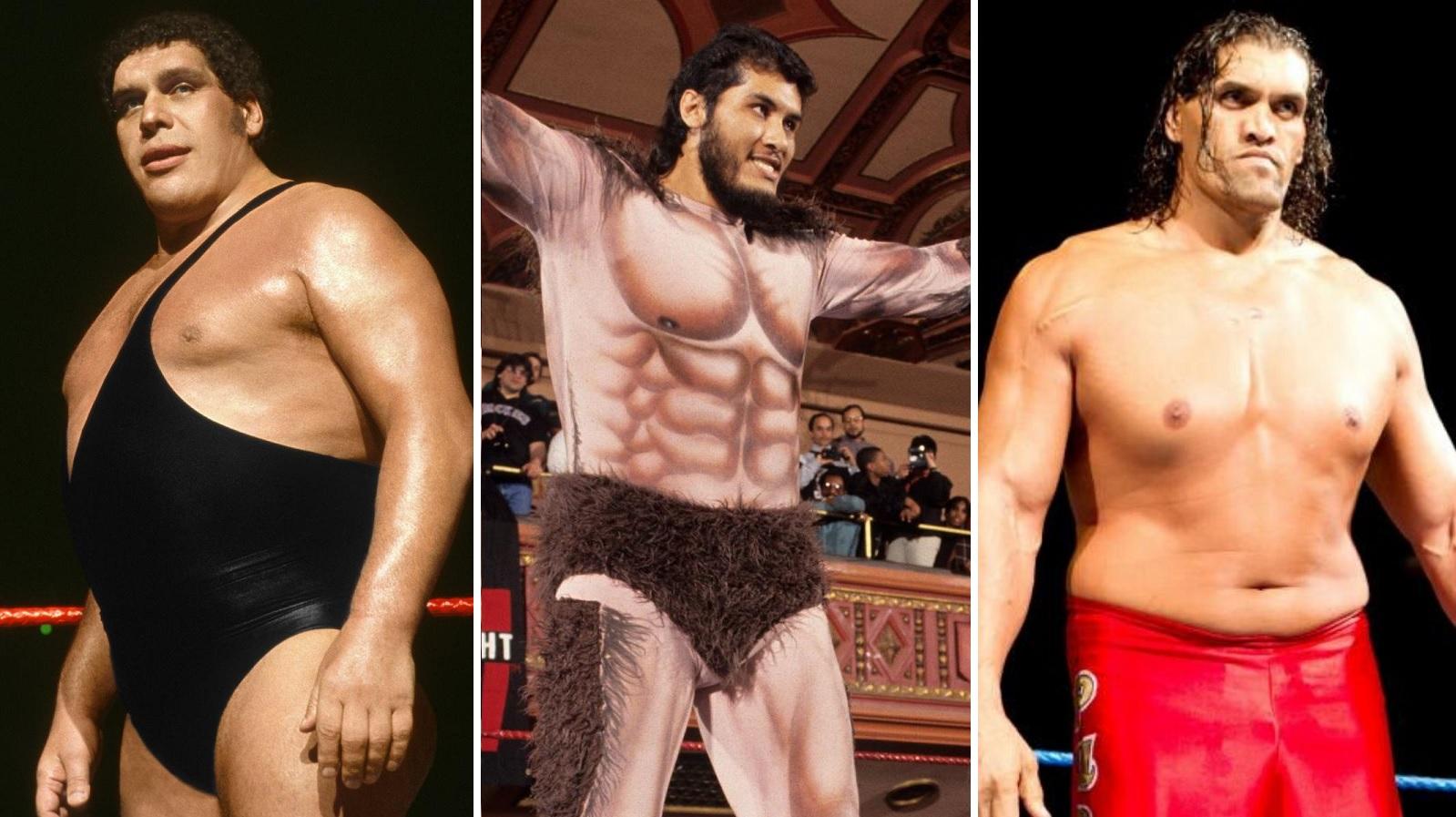 Los luchadores más altos de la WWE