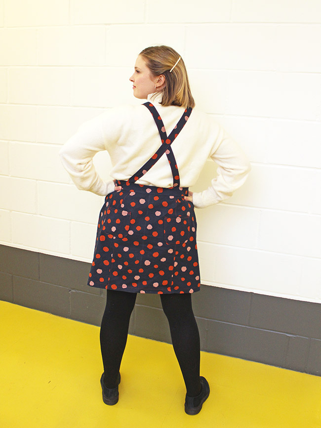 Louise's Bobbi pinafore - Tilly and the Buttons