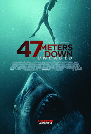 Poster Of 47 Meters Down: Uncaged Full Movie in Hindi HD Free download Watch Online 720P HD