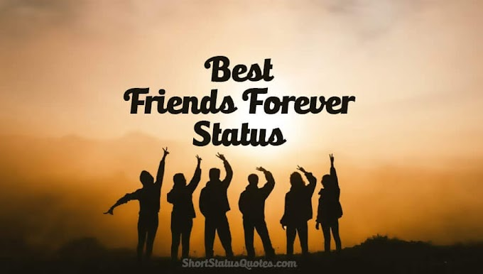 Status for friends forever- cute friendship status for whatsapp