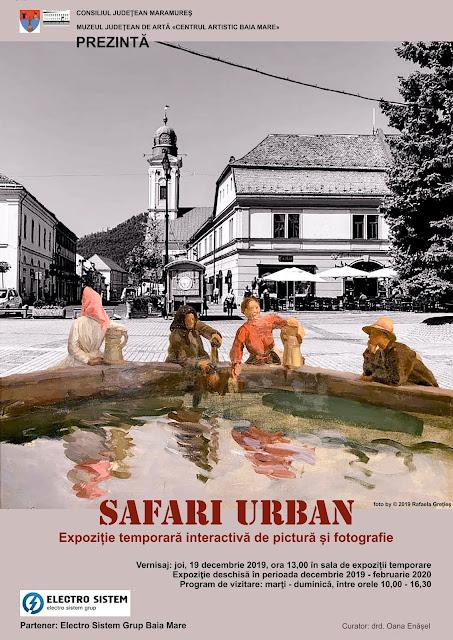 """""""Safari urban"""". Expoziție temporară interactivă la Muzeul de Artă"""
