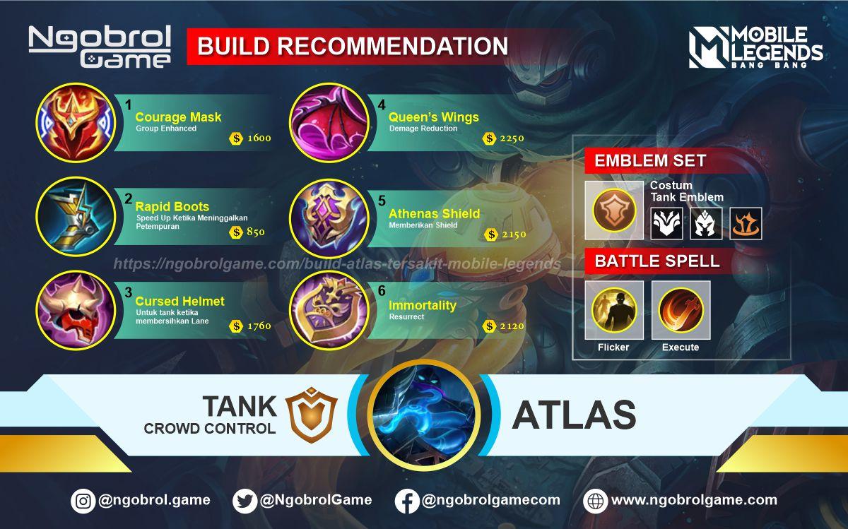 Build Atlas Tersakit 2021 Mobile Legends
