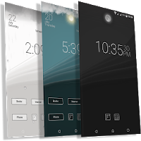 Final Interface - launcher + animated weather Apk free for Android