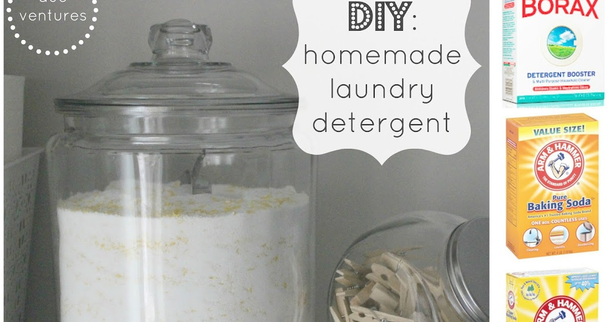 Duo Ventures Diy Homemade Laundry Detergent
