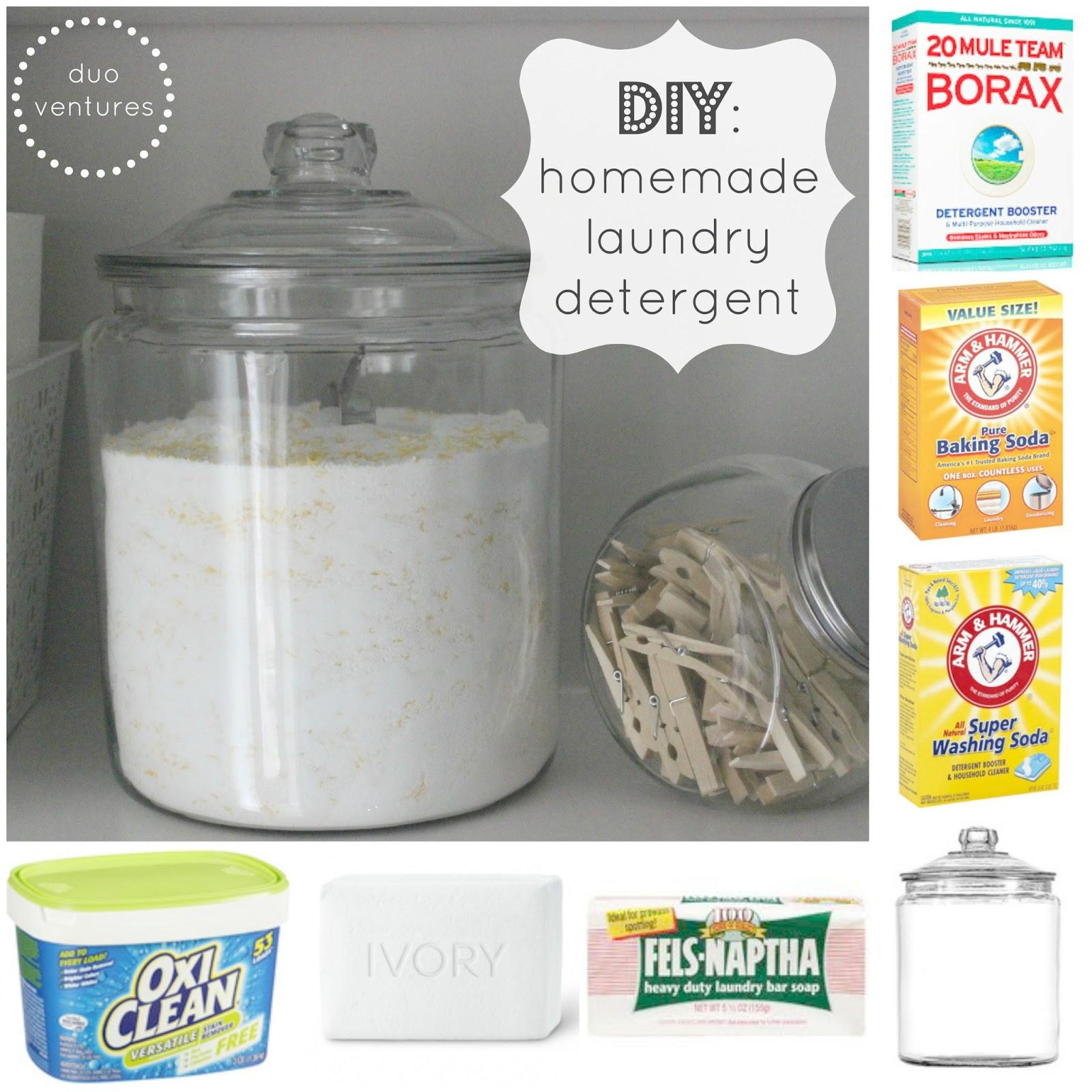 Duo Ventures Diy Homemade Laundry Detergent
