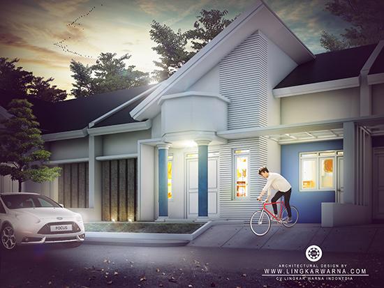 Desain rumah minimalis ukuran 10x15 meter 4 kamar tidur 1 lantai