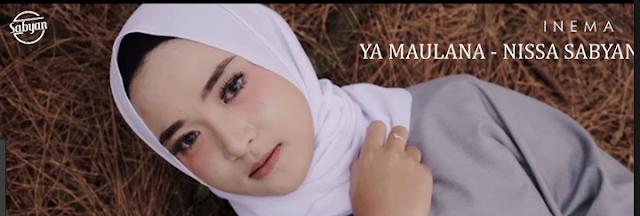 Lirik Ya Maulana Syaban – Nisya Sabyan