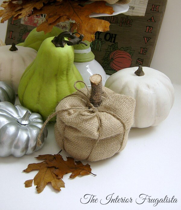 Easy Fake Fall Pumpkin Ideas