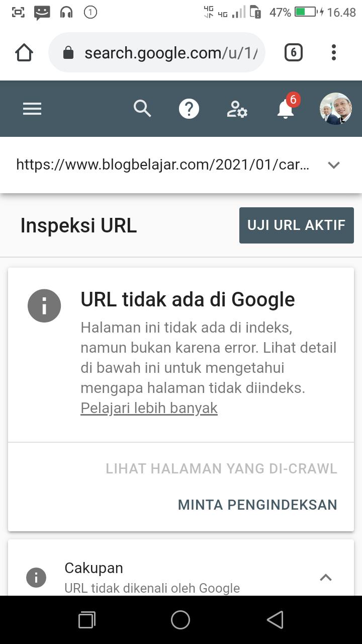 Cara Mensubmit Artikel Ke Google Search Console