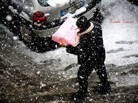 Sotto la neve per i dolci