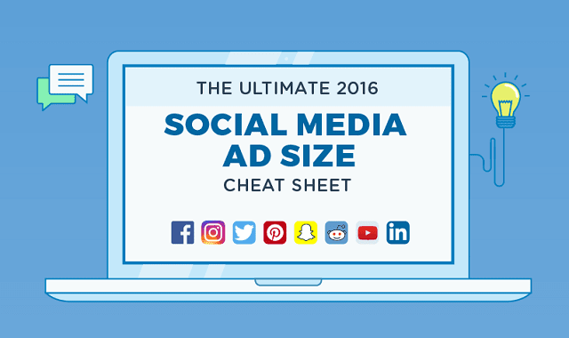 The Ultimate 2016 Social Media Ad Size Cheat Sheet