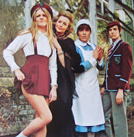Girly (Vanessa Howard), Mumsy (Ursula Howells), Nanny (Pat Heywood) & Sonny (Howard Trevor)