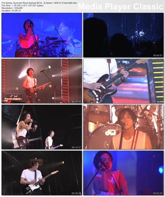 [Show] 140815 Summer Rock festival 2014 – A-Nation [CNBLUE]