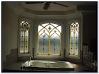 Stained GLASS WINDOW Treatments