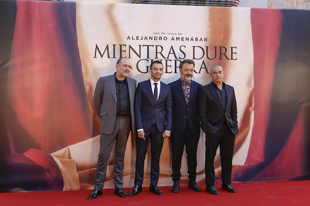 Karra Elejalde, Alejandro Amenábar, Santi Prego Eduard Fernández
