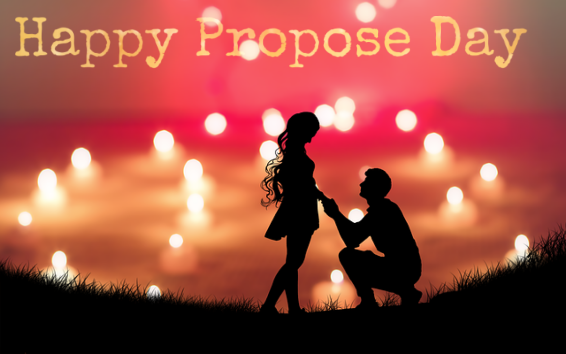 valentine week days list 2020, propose day images