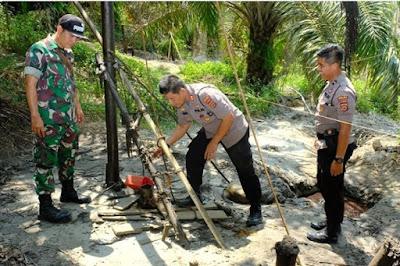 Modus Para Pelaku Ilegal Driling Di Kabupaten Batanghari Berhasil Diamankan Tim Satgas Gabungan Ops Ilegal Driling