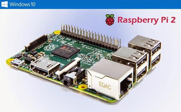 Raspberry Pi 2 — $35 Computer with Quad-Core Processor and it runs Free Windows 10