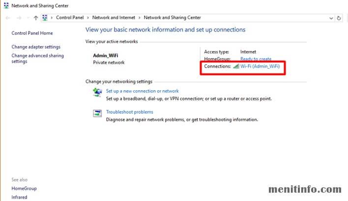 Cara Melihat Dan Mengetahui Password Wifi Di Windows 10 Menit Info