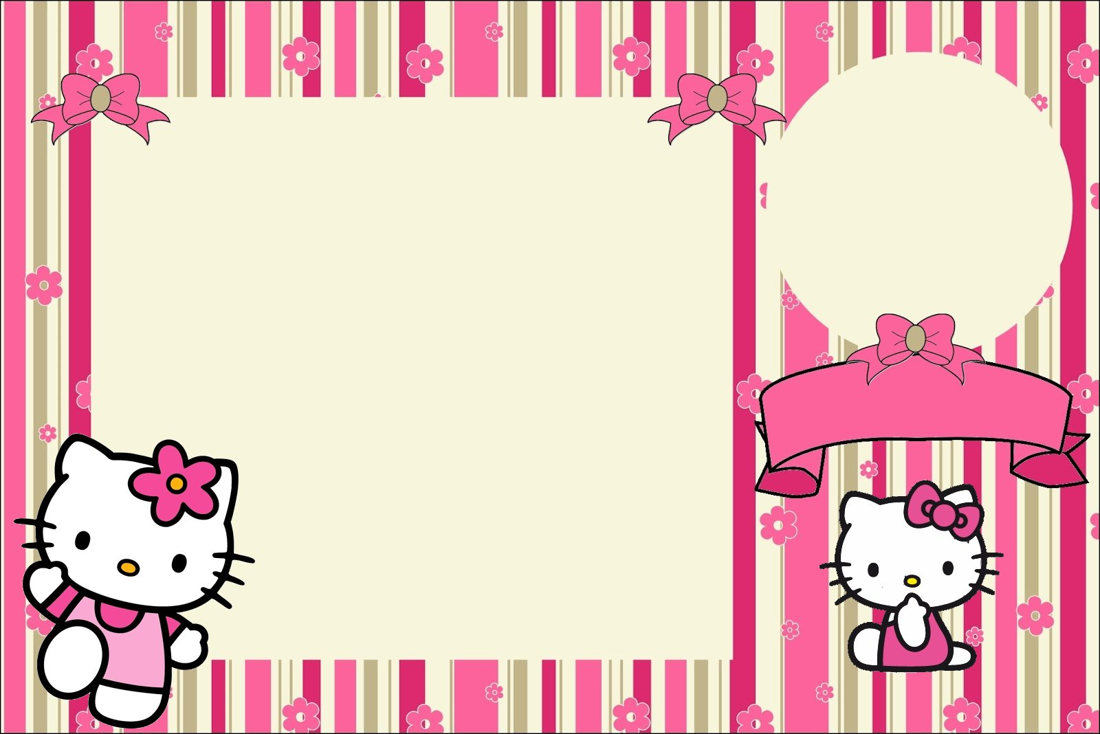 Hello kitty printable invitations free leoncapers hello kitty printable invitations free stopboris Gallery