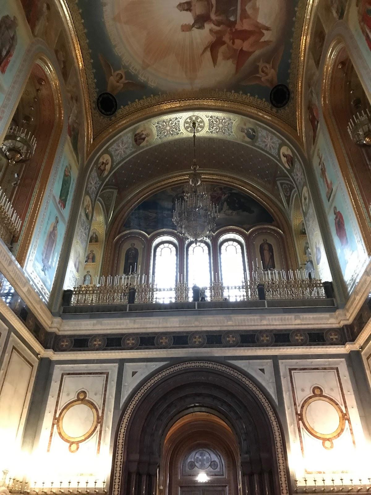 Catedral de Cristo Salvado - Moscou