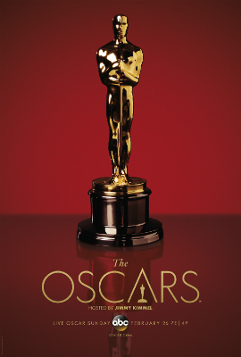 The Oscars will air on ABC on Sunday, February 26, 2017.